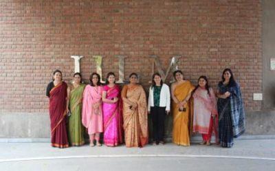 Faculty at IILM wall