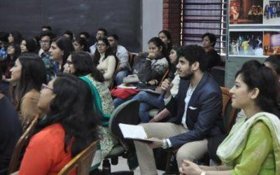 Student activity at IILM university