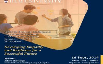 Event at IILM University Gurugram